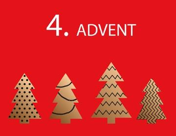 Wir wünschen Ihnen einen schönen 4. Advent
