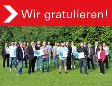 Gruppenbild IHK Lehrgang Teilnehmer
